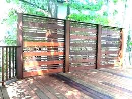 outdoor wooden screen outdoor wood privacy