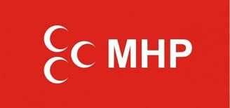 CHP nin Kalesine Üç Hilal Bayrağı dikildi