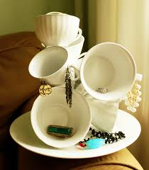 Decorating With Teacups And Saucers decorating with teacups 23