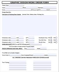 Examples Of Work Order Form 10 Samples In Word Pdf