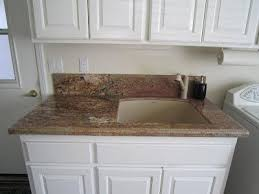 Utility Sink Backsplash Amazing Laundry Room Vanity With 48 Inch Ogee Backsplash Undermount Laundry