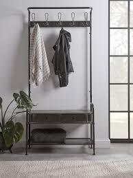 industrial storage coat rack