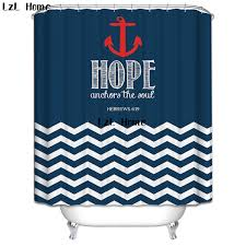 lzl home fashion national flag sailing symbol shower curtain bathroom s shower curtain liner with 12 hooks waterproof