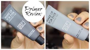 make up for ever primers review bailey b