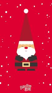Santa Gnome iPhone Wallpaper ...