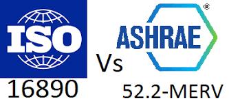 Merv Ashrae 52 2 Vs Iso 16890 Efficiency Charts