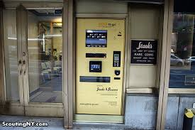 Gold To Go Vending Machine Cool There's A GoldDispensing ATM On West 48th Street Scouting NY