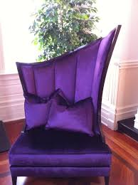 funky furniture and stuff. Regal Purple Velvet Chair ~ ♥ Funky Furniture And Stuff Y