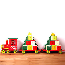 get quotations decoration and gifts advent calendar countdown calendar calendar ornaments wooden train train