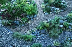 rock garden in landscaping image