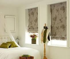 Patterned Roman Shades