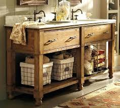 rustic double sink bathroom vanities. Perfect Rustic Rustic Double Sink Vanity  Bathroom Under Two Framed  And Rustic Double Sink Bathroom Vanities S