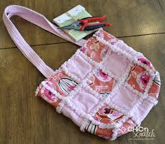 Rag Quilt Purse | Chic n Scratch & Gift from Michele Adamdwight.com