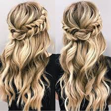 Half Up Half Down Wedding Hairstyles 73 Awesome Beautiful Braid Half Up And Half Down Hairstyle For Romantic Brides