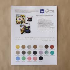 Full Shine Color Chart Free Stencil Paint Color Chart