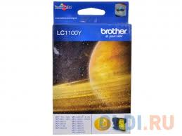 <b>Картридж</b> струйный <b>Brother</b> LC1100Y желтый для DCP-385C ...