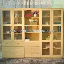 splendorous glass door bookcase oak bookcase with glass door and drawers bookcase with glass