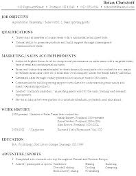 Resume Objectives For Managers Resume Objectives For Managers ...