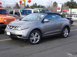 2011 Nissan Murano CrossCabriolet AWD 2DR SUV Convertable for sale ...