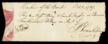 file franklin benjamin signed check jpg file franklin benjamin signed check jpg