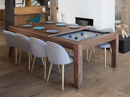 Pool table that is a dining table Full Size Fusion Tables wood By Aramith Blatt Billiards Dining Pool Table Combo Blatt Billiards Pool Tables