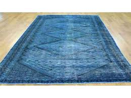 denim blue oriental rug 5 2 x from rugs purple pink worn handmade pictures bedroom overdyed