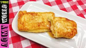 Easy Breakfast Sweet Fried Bread Lunch Ideassnacks For School