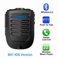Yeni kablosuz mikrofon B01-IOS Ios sistemi için cep telefonu ağ radyo ile  çalışmak REALPTT ZELLO