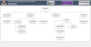 excel template organizational chart automatic organizational chart maker with photos excel template