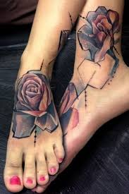 foot tattoo design 16