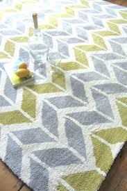 yellow and gray bath rugs chevron yellow grey rug gray and yellow chevron bath rug gray
