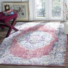 pink gray blue rug bohemian grey and area red rugs