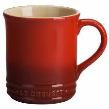 le creuset cafe collection stoneware  oz coffee mug  jl hufford