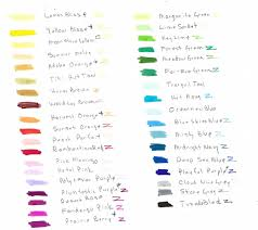 Blick Studio Markers Color Chart Markers At A Discount Save Money On Your Markers Brush