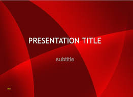 Ppt Templates Free Download Unique Free Red Beautiful Powerpoint