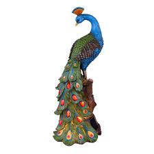 Peacock Design Pictures Led Solar Light Peacock Design Height 47 Cm