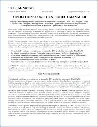 Job Description For Supply Chain Manager Supply Chain Management