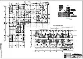 Диплом по ПГС Организация строительства гостиничного комплекса в г  2 Планы узел