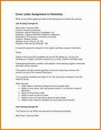 10 11 Chemistry Cover Letter Examples Elainegalindo Com