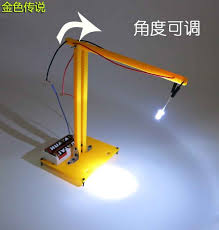 diy desk lamp small led lamp technology manual light material package physical