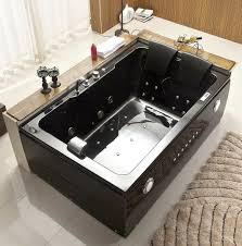 Bathtubs Idea, 2 Person Whirlpool Bathtub Two Person Jacuzzi 2 Person Black  Jacuzzi: interesting
