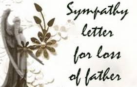 Sympathy Letter For Loss Of Father - Free Letters
