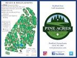 Score Card | Pine Acres Country Club