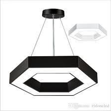 office pendant lighting. discount modern office hexagon led pendant lights minimalism metal fixtures luminaria lampares hanging light suspension lighting fixture ceiling a