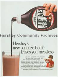 hershey community archives hershey s syrup in 1979 hershey began packaging its chocolate syrup in 24 oz plastic containers