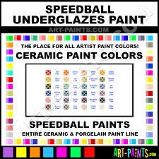 Speedball Underglaze Chart Speedball Underglazes Ceramic Porcelain Paint Colors