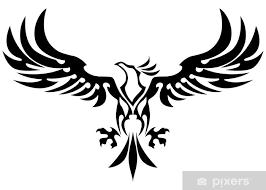 tribal eagle sticker pixers we