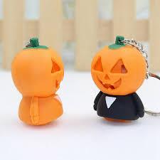 <b>Creative Halloween</b> Keyring Ghost Shaped With <b>LED</b> & Sound ...