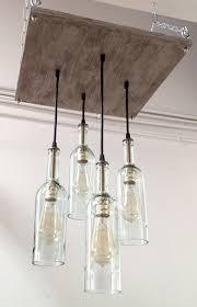 collection in wine bottle light fixture chandelier bottle chandelier