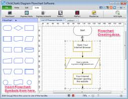 best free flowchart software for windowsclickcharts diagram flowchart software